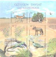 2019. Uzbekistan, Kizilkum Nature Reserve, S/s, Mint/** - Uzbekistan