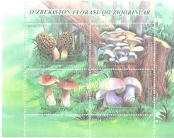 2019. Uzbekistan, Mushrooms Of Uzbekistan, S/s, Mint/** - Uzbekistan
