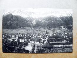Post Card Carte Karte Austria Mountains Berge Montagnes 1912 Innsbruck - 1850-1918 Imperium