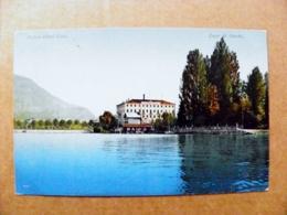 Post Card Carte Karte Austria Mountains Berge Montagnes 1911 Palast Hotel Lido Lago Di Garda Lake - 1850-1918 Imperium