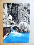Post Card Carte Karte Austria 1911 Riva La Cascata Waterfall Fall Bridge Pont Brucke Lago Di Garda - Briefe U. Dokumente