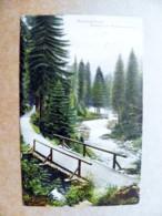 Post Card Carte Karte Austria Mountains Berge Montagnes Riesengebirge River Bridge Pont Brucke 1908 - Briefe U. Dokumente