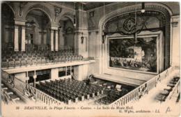 51bst 1821 CPA - DEAUVILLE - CASINO - LA SALLE DU MUSIC HALL - Deauville