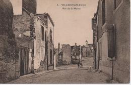 VILLEDOMMANGE  RUE DE LA MAIRIE - Altri Comuni