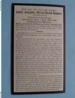 DP Louis SOMERS ( Maria KORSTEN ) Schuelen 29 Jan 1873 - Hamont 23 Dec 1931 ( Zie Foto's ) Geneesheer ! - Overlijden