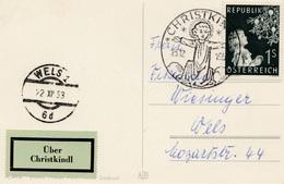 1953: Christkindl - Österreich Nach Wels - Otros - Europa