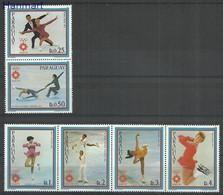 Paraguay 1983 Mi Parvie3609-3615 MNH ( LZS3 PRGparvie3609-3615 ) - Hiver 1984: Sarajevo