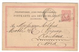 26135 - Entier  Pour ROUBAIX Avec Repiquage - Deutschland