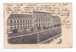 Roumanie Bucuresci Palatul Justitiei N°52190 En 1907 Stengel & Co Dresde 276 P VOIR DOS Non Séparé - Romania