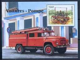 TSCHAD 1998 Block 292 Postfrisch (102356) - Feuerwehr