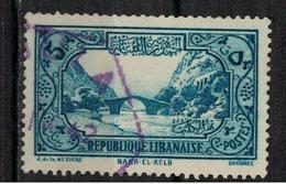 GRAND LIBAN            N°  YVERT   170      OBLITERE       ( Ob   5/63 ) - Usados