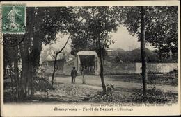 Cp Champrosay Essonne, Foret De Senart, L'Ermitage - France
