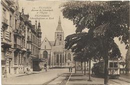 Vilvoorde - Vilvorde  *  Avenue De Schaerbeek Et L'Eglise  (Tram) Schaarbeeklaan En Kerk - Vilvoorde