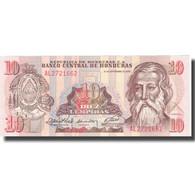 Billet, Honduras, 10 Lempiras, 1989, 1989-09-21, KM:70a, NEUF - Honduras