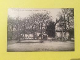 Rablay Sur Layon Le Mail Vers Les Coteaux  Visuel RARISSIME Carte écrite à La Marquise De St Léger - Other Municipalities