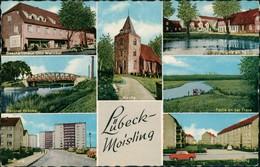 Moisling Mehrbild-AK Geschäftshaus Otto Melinkat, Siedlung Uvm. 1965 - Deutschland