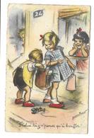 ILLUSTRATEUR Germaine BOURET..- Celui Là,y N'pense Qu'à Bouffer !........2 Scans - Bouret, Germaine