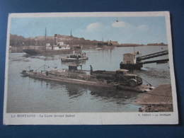 Carte Postale Bac Traversant La Loire Devant Indret - Otros