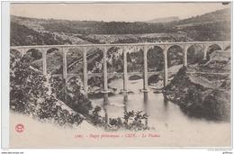 BUGEY PITTORESQUE CIZE LE VIADUC 1925 - France