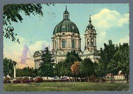 °°° Cartolina - Torino Basilica Di Superga Viaggiata °°° - Churches