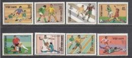 Vietnam 1982 - Sport: Football, Mi-Nr. 1214/21, MNH** - Vietnam