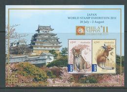 Australia 2011 Philanippon Yokohama Stamp Exhibition Miniature Sheet MNH - Mint Stamps