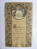 Image Religieuse - Communion église Saint Nicolas De Chateaubriant - Maurice Menuet 1920 - Images Religieuses