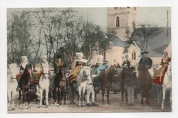- CPA NOCE BRETONNE (29) - Arrivée Du Cortège Au Bourg (belle Animation) - Collection Villard, Quimper 1124 - - Francia