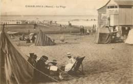 MAROC  - CASABLANCA - La Plage - Casablanca