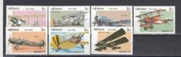 Vietnam 1986 - Avions, Mi-Nr. 1720/26, Dent., MNH** - Vietnam
