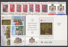 SMOM 1982 Annata Completa/Complete Year MNH/** VF - Malte (Ordre De)