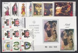 SMOM 1984 Annata Completa/Complete Year MNH/** VF - Malte (Ordre De)