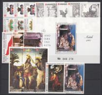 SMOM 1985 Annata Completa/Complete Year MNH/** VF - Malte (Ordre De)