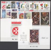 SMOM 1988 Annata Completa/Complete Year MNH/** VF - Malte (Ordre De)
