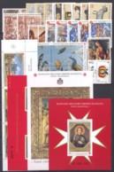 SMOM 1999 Annata Completa/Complete Year MNH/** VF - Malte (Ordre De)