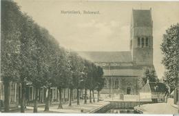 Bolsward 1929; Martinikerk - Gelopen. (K. Falkena - Bolsward) - Bolsward