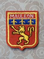 Ecusson à Coudre De Mauléon-Licharre (64) - Ecussons Tissu
