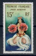 POLINESIA FRANCESE 1964 - 15 F POSTA AEREA - MH* - French Polynesia