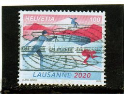 2019 Svizzera - Giochi Olimpici Invernali Giovanili 2020 Losanna - Usati