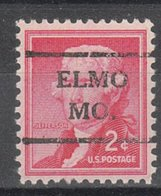 USA Precancel Vorausentwertung Preo, Locals Missouri, Elmo 716,5 - Vereinigte Staaten
