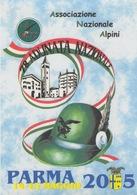 """CARTOLINA ALPINI - ASSOCIAZIONE NAZIONALE ALPINI - 78^ ADUNATA NAZIONALE """"PARMA""""  2005 - Reggimenti"""
