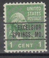 USA Precancel Vorausentwertung Preo, Locals Missouri, Exelsior Springs 264 - Vereinigte Staaten