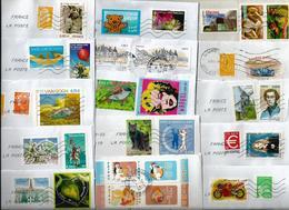 Lot De 30 Enveloppes Avec Affranchissement Composé - France