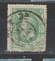 COB 30 Oblitération Double Cercle Ambulant Est 3B Rare - 1869-1883 Leopold II