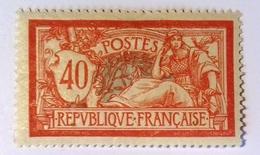 Merson Bien Centré, Numéro 119, Neuf * Avec Trace De Charnière. - 1900-27 Merson