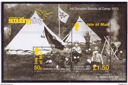 Ile De Man 2007 - MNH ** - Scoutisme - Michel Nr. Bloc 59 (sco151) - Scoutisme