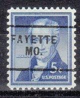 USA Precancel Vorausentwertung Preo, Locals Missouri, Fayette 703 - Vereinigte Staaten
