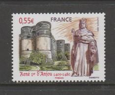 FRANCE / 2009 / Y&T N° 4326 ** : Roi René 1er D'Anjou X 1 - Unused Stamps