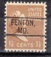USA Precancel Vorausentwertung Preo, Locals Missouri, Fenton 802 - Vereinigte Staaten
