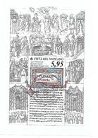 VA051 - VATICANO 2018 - FOGLIETTO LINGUA LITURGICA SLAVA - USATO TIMBRO GIORNO EMISSIONE - Vaticano
